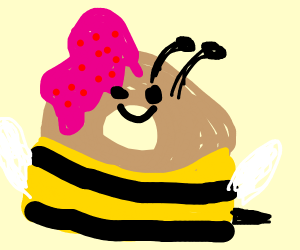 Beagle in a Bumblebee Outfit