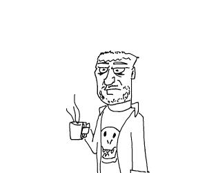 Bart Simpson in his 20s (In moms basement)
