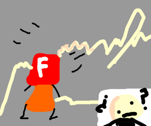 adobe flash has been electrocuted