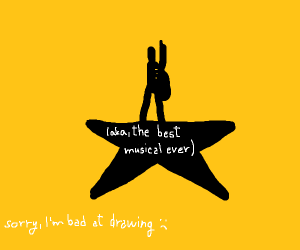 Hamilton in one drawing (Musical)