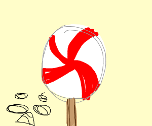 Peppermint Lollypop