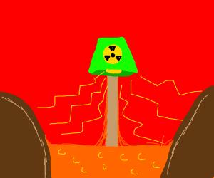 Radioactive Lava Lamp