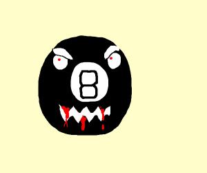 Creepy 8 Ball
