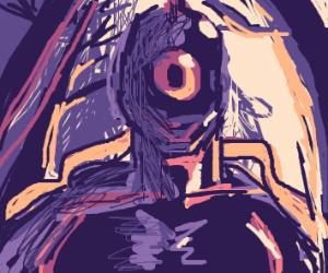 Purple cyclop