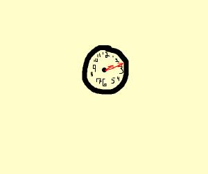 2:30 (on clock)