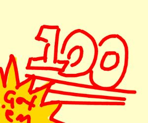 Aussie 100 emoji   got em