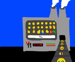 Welcome to the emoji machine
