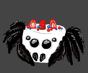 c ake spider