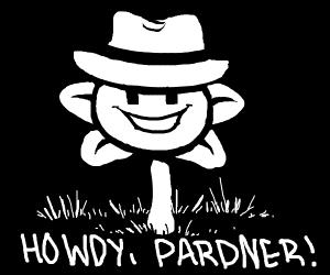 cowboy flowey