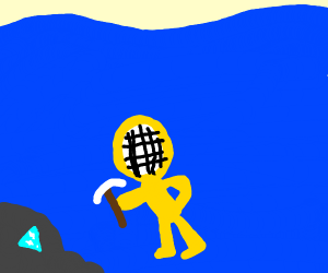 Mining diamonds in the Ocean