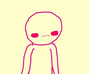 Pink guy blushing O////O