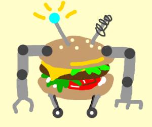 Cheeseburger robot