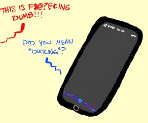 Siri Autocorrecting your rage