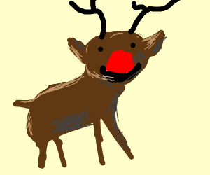 Rudolf, the rednose raindeer