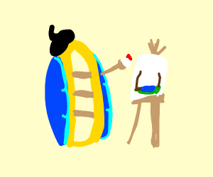 Raft Painting