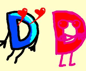 Drawception D loves Retina burn D
