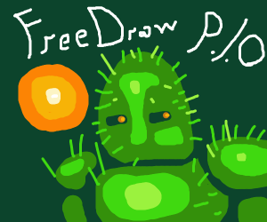 Free Draw P.I.O (nice drawing, friend!)