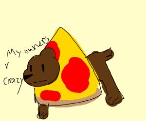 Pizza dog