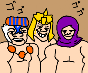 Me and the boys when awaken by wammu