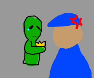 Turn in your alien police badge and knife!