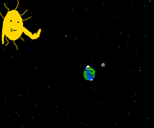 sun pissing earth off