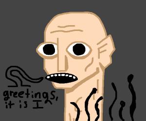 Panel 4 is disturbing [draw something weird]