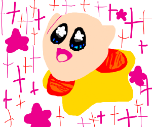 Blessed Kirby Drawing
