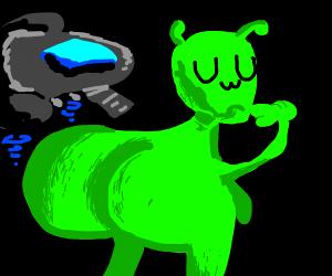 Alien butts