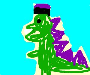 Steampunk Godzilla