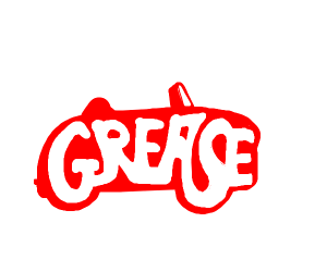 "The ""Grease"" logo"
