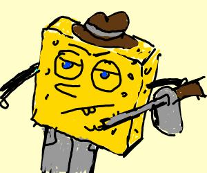 Gangster Spongebob