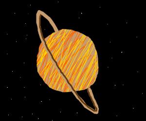 Planet Saturn