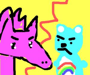 My Little Pony vs Care Bear