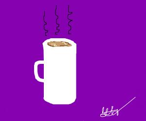 mug of tea/coffee/hot chocolate