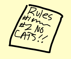 #2 No Cats Allowed