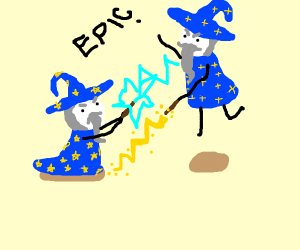 epic wizard battle