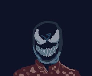 Venom on a tropical island bar