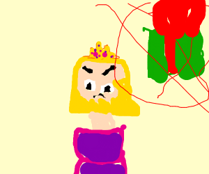 Princess Peach doesn't like presents