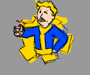 fallout boy but no thumb