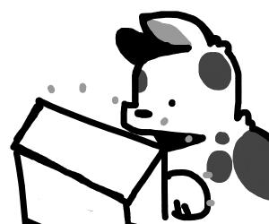 furry playing minecraft