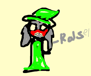 Ralsei Is embarrassed