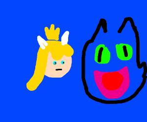bowsette and toothless