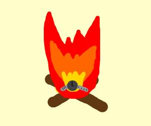 Watch in a Fire