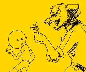 draw me a werewolf bf