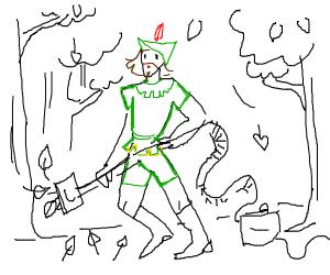 Robin Hood Vacuuming