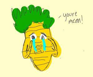 A Carrot Crying