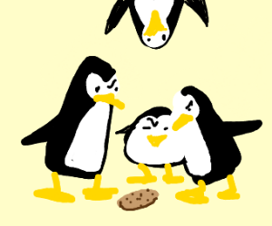 Penguins of Madagascar analysis of a cookie