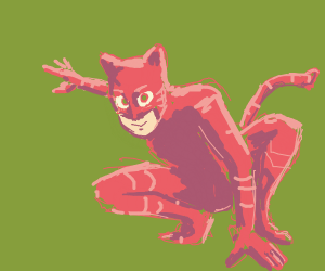 a good cat boy