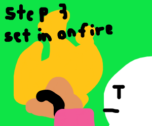 step 2: watch it all go downhill