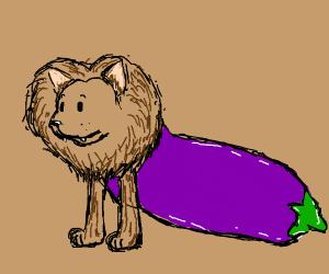 Lion my eggplant
